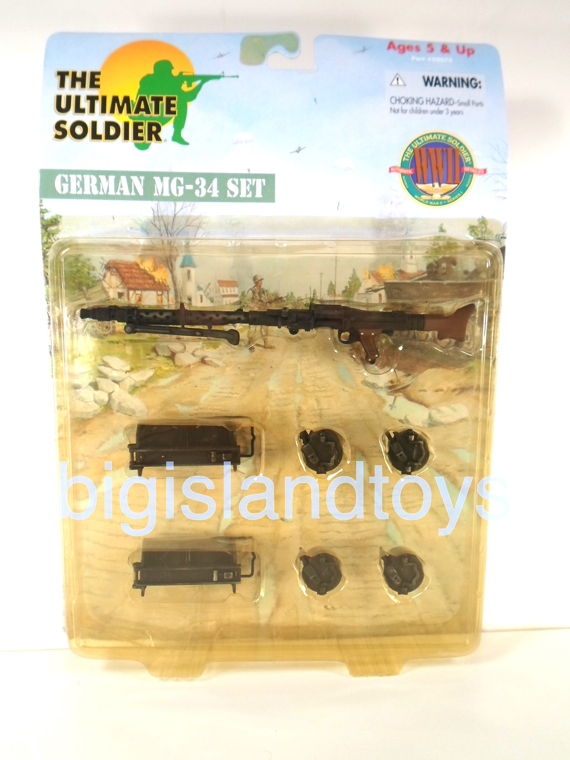 The Ultimate Soldier     German MG-34 Set