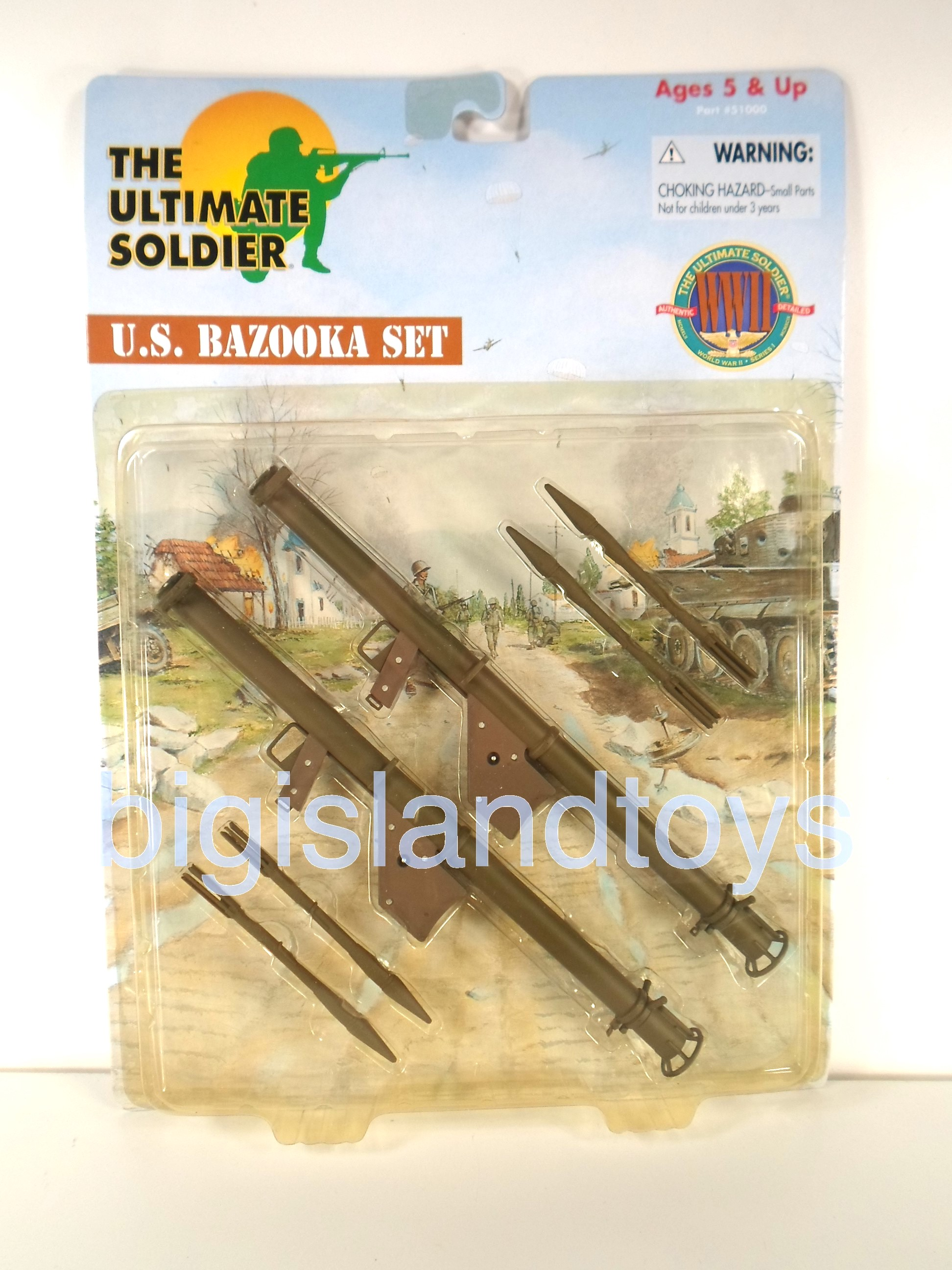 The Ultimate Soldier     U. S. Bazooka Set
