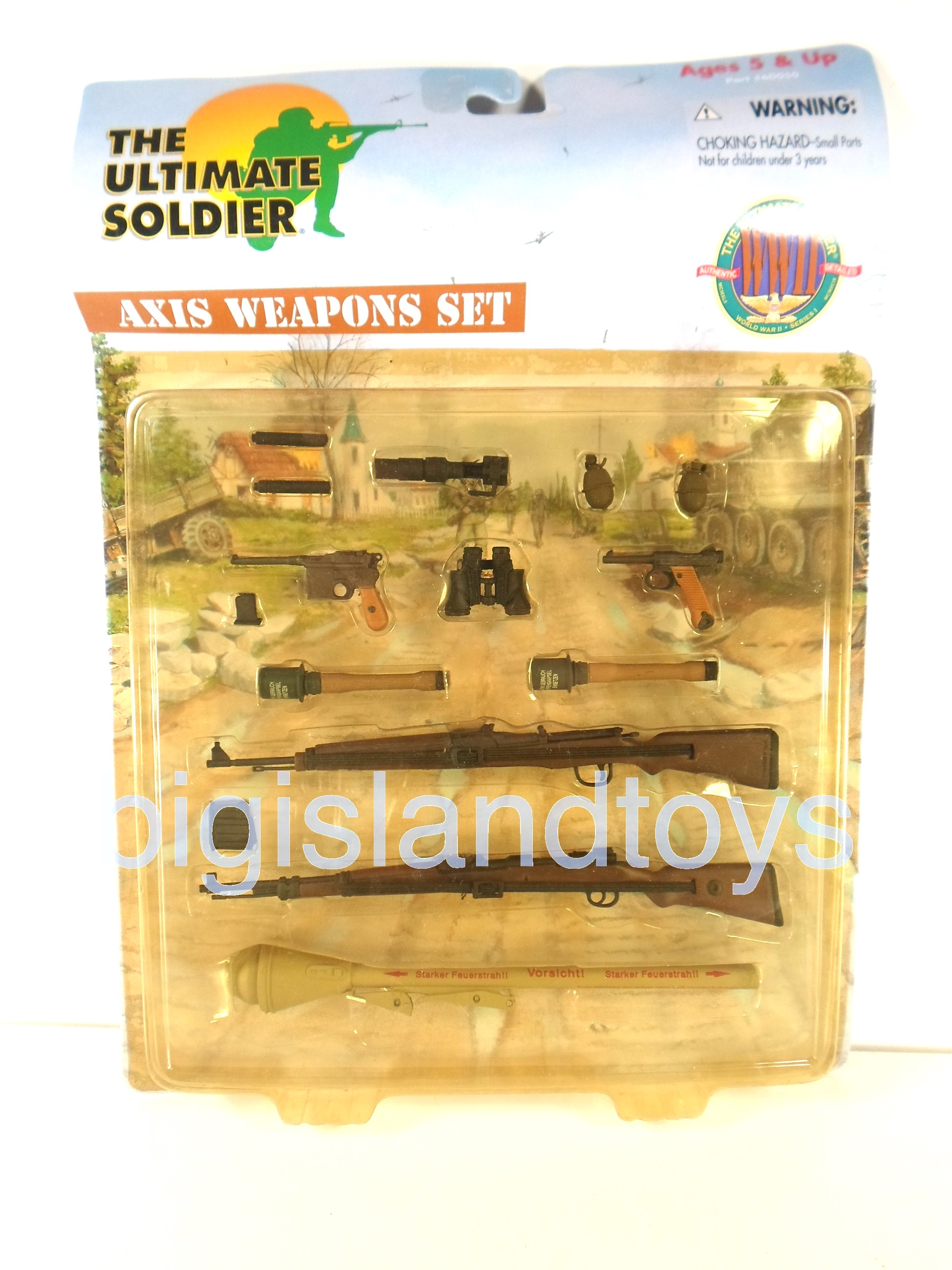 The Ultimate Soldier     Axis Weapons Set