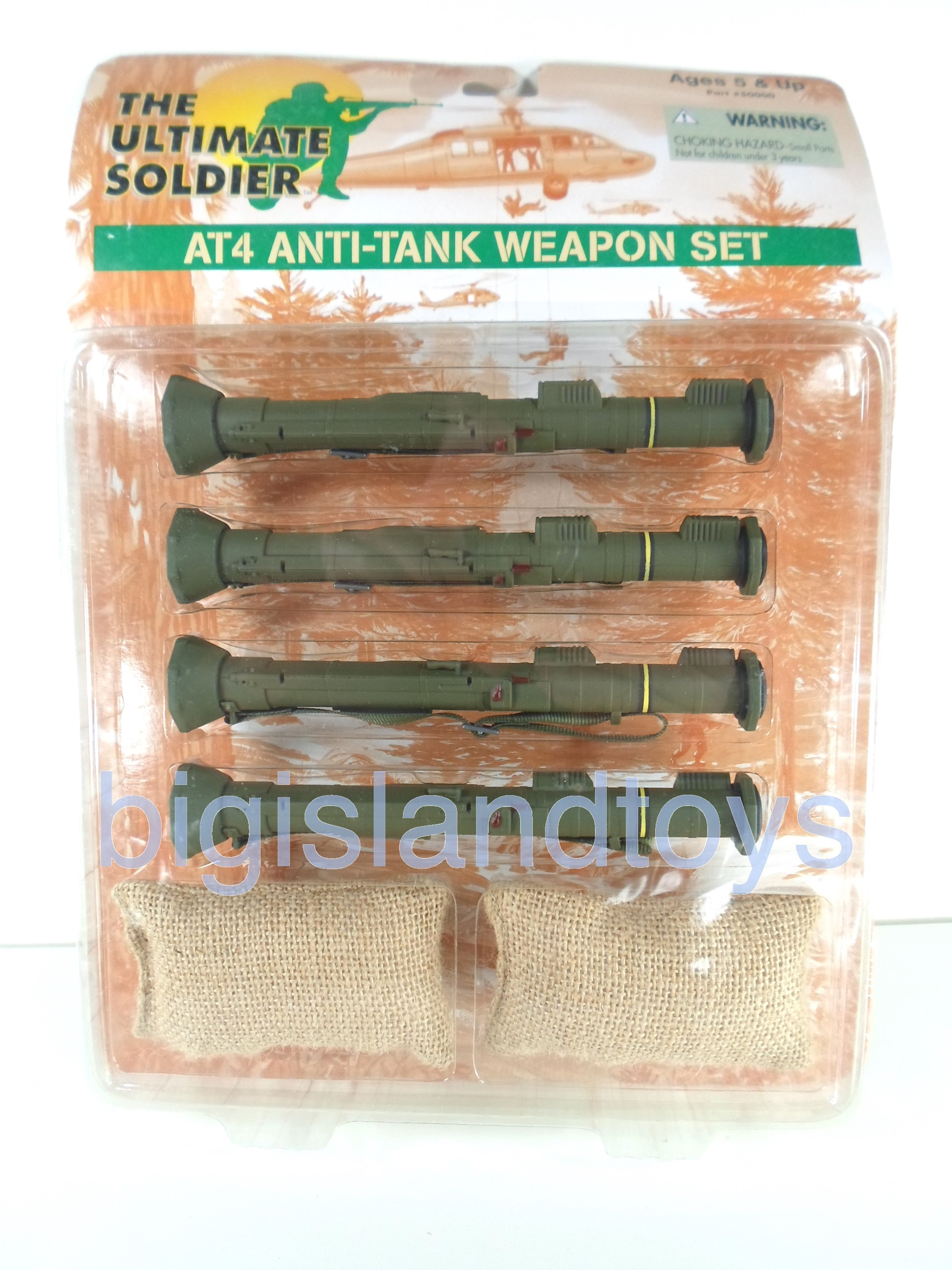 The Ultimate Soldier     AT4 Anti-Tank Weapon Set