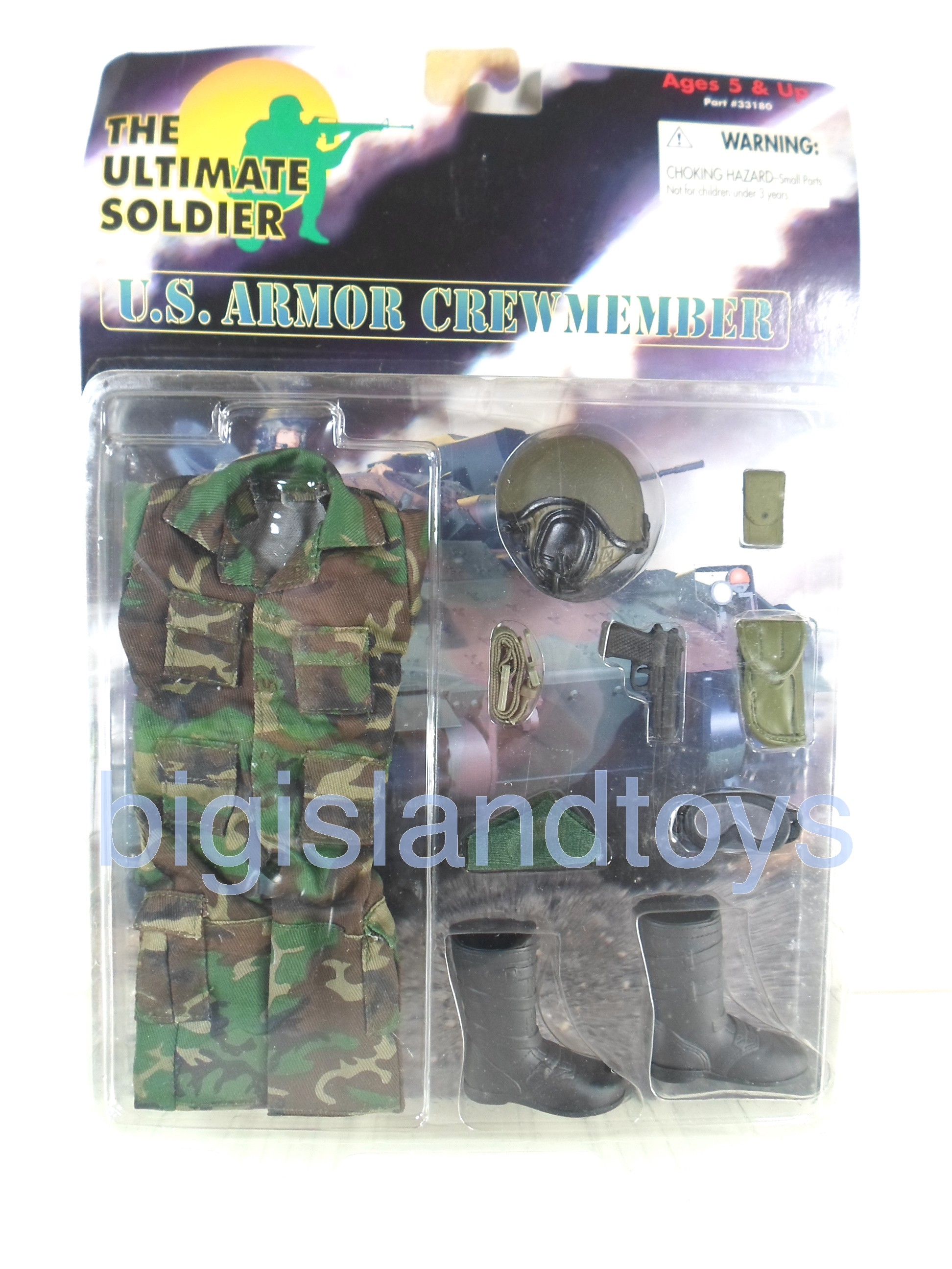 The Ultimate Soldier     U.S. Armor Crew Member