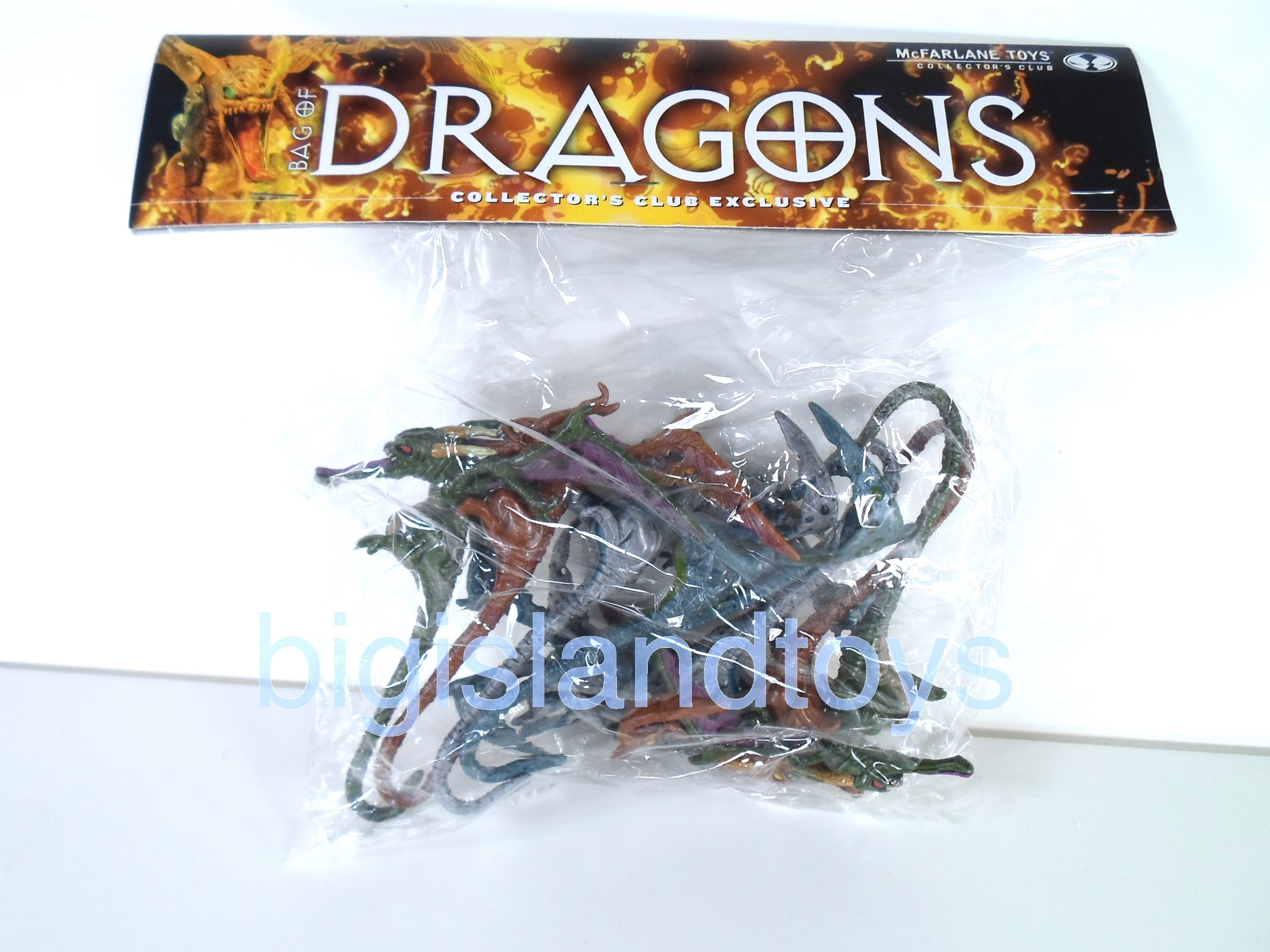 Collectors Club Exclusive     Bag of Dragons