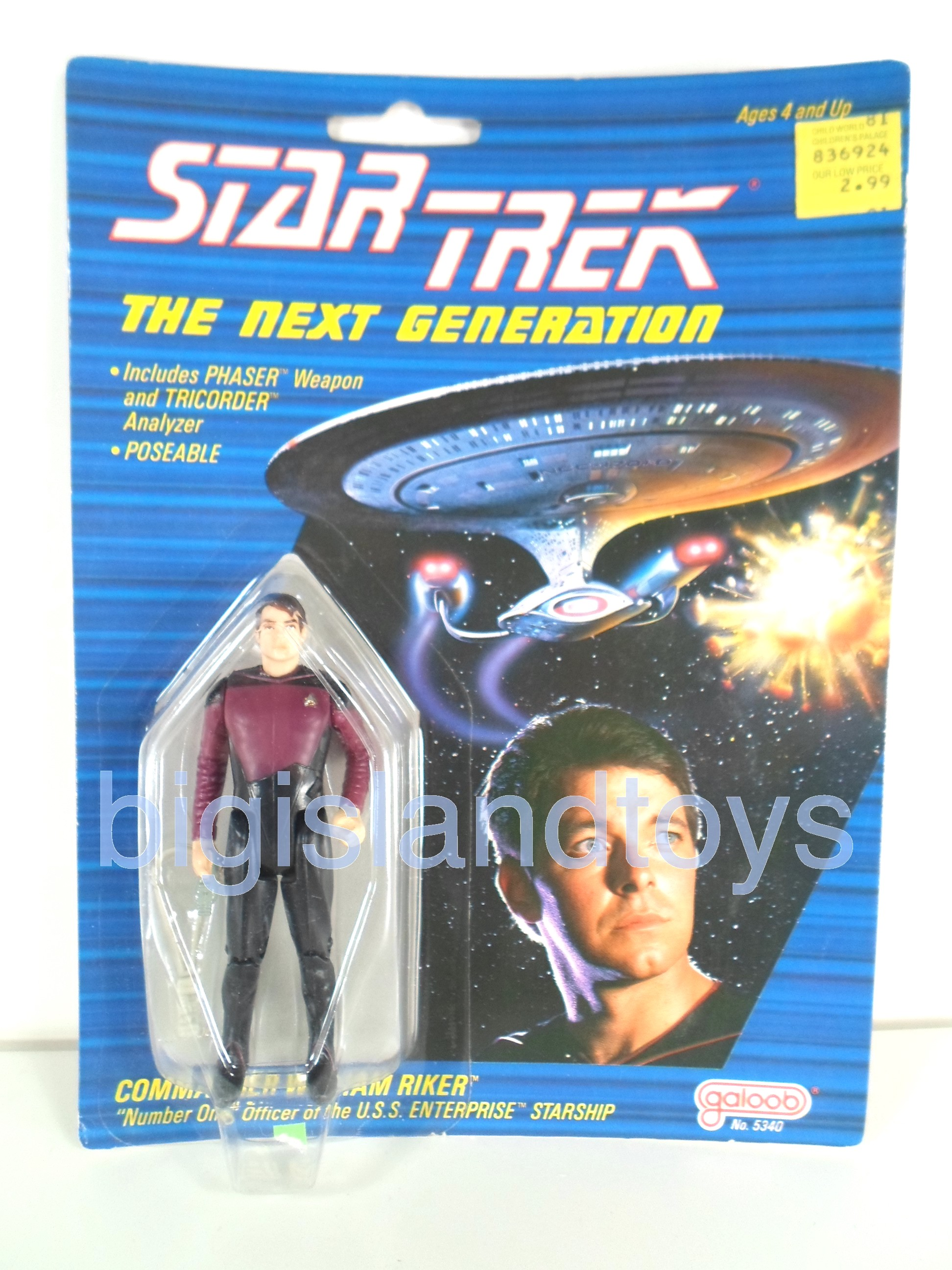 Star Trek  The Next Generation   Commander William Riker