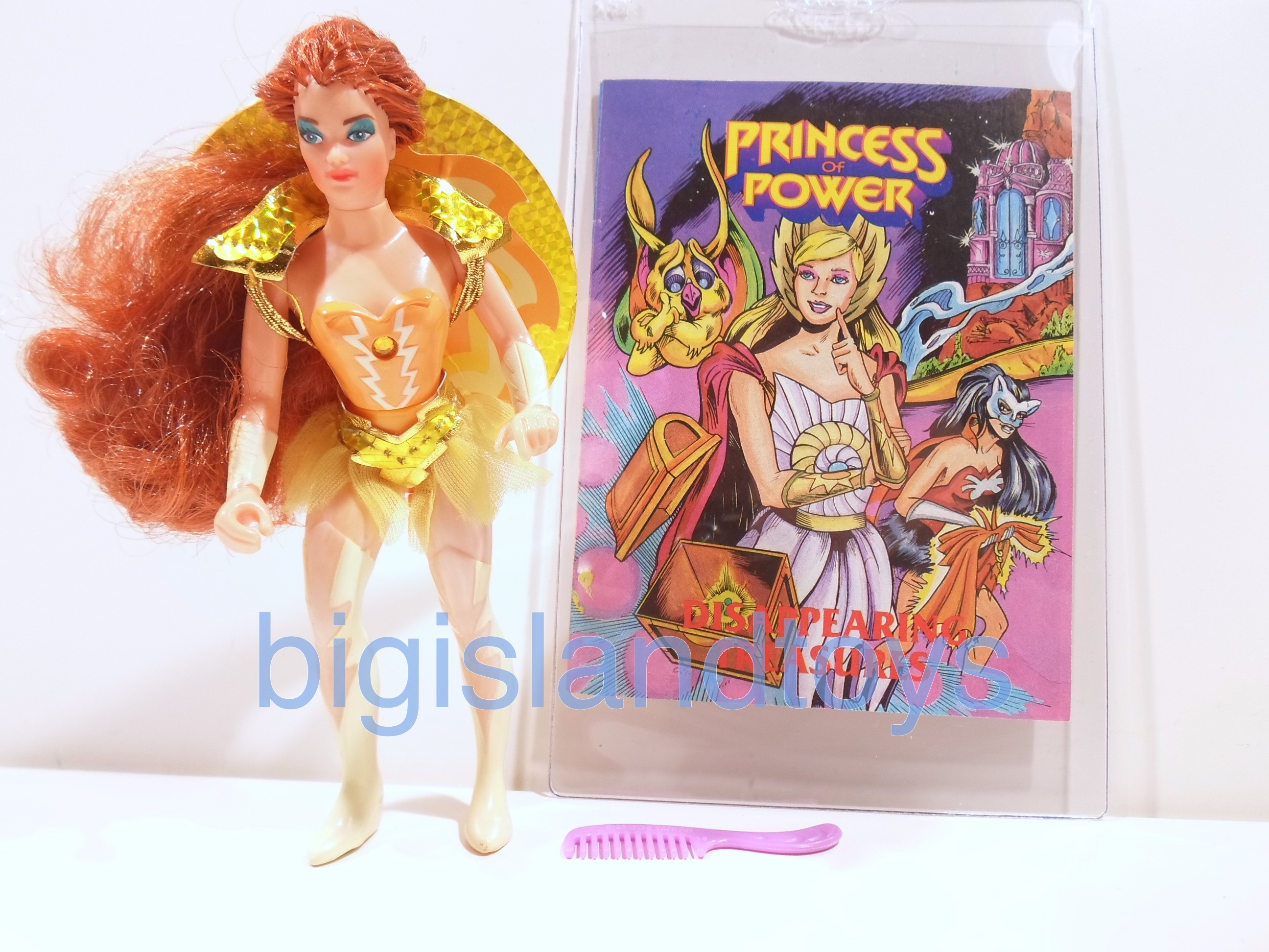 Princess of Power Action Figures   Castaspellahalf painted boots