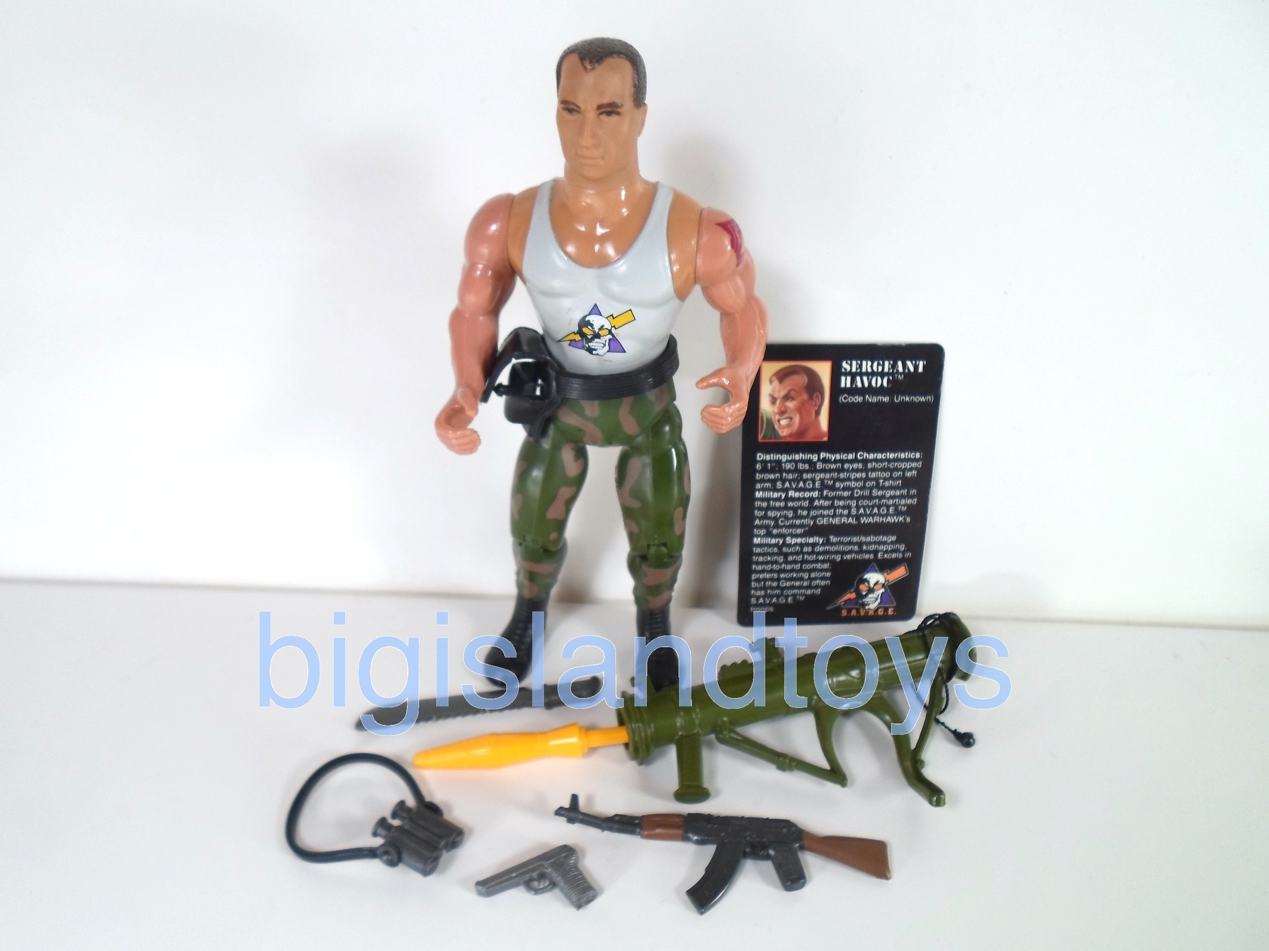 Rambo and the Forces of Freedom    SERGEANT HAVOC
