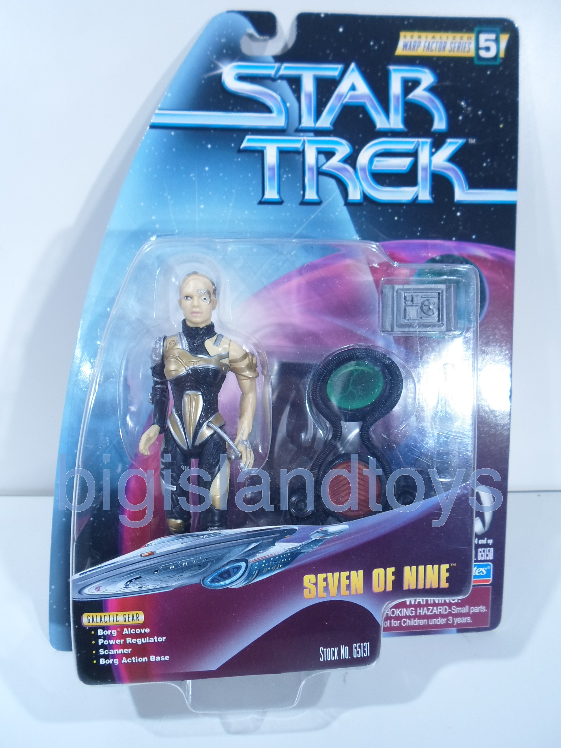 Star Trek  Warp Factor   Seven of Nine
