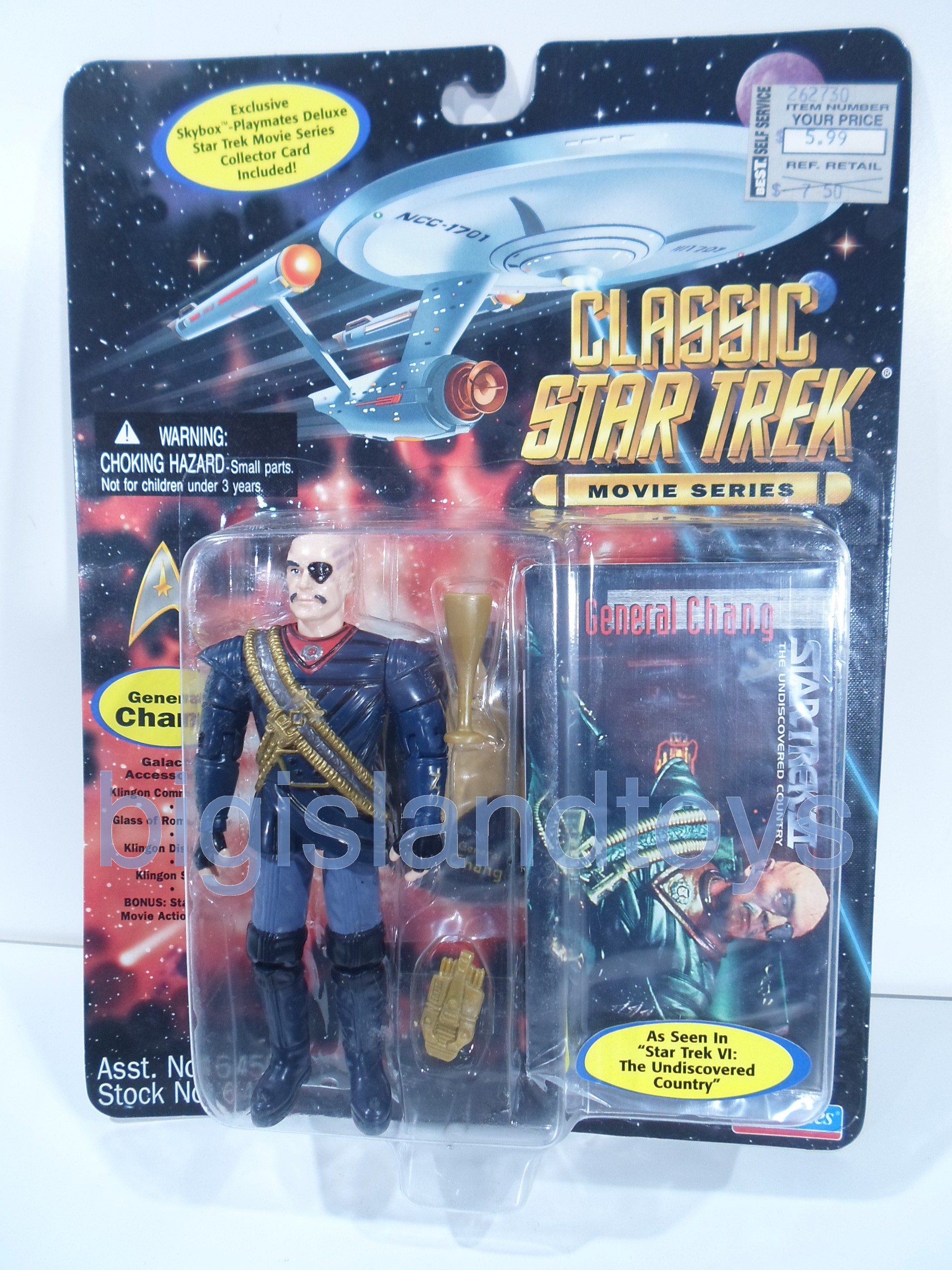 Star Trek  Classic Movie Series   General Chang