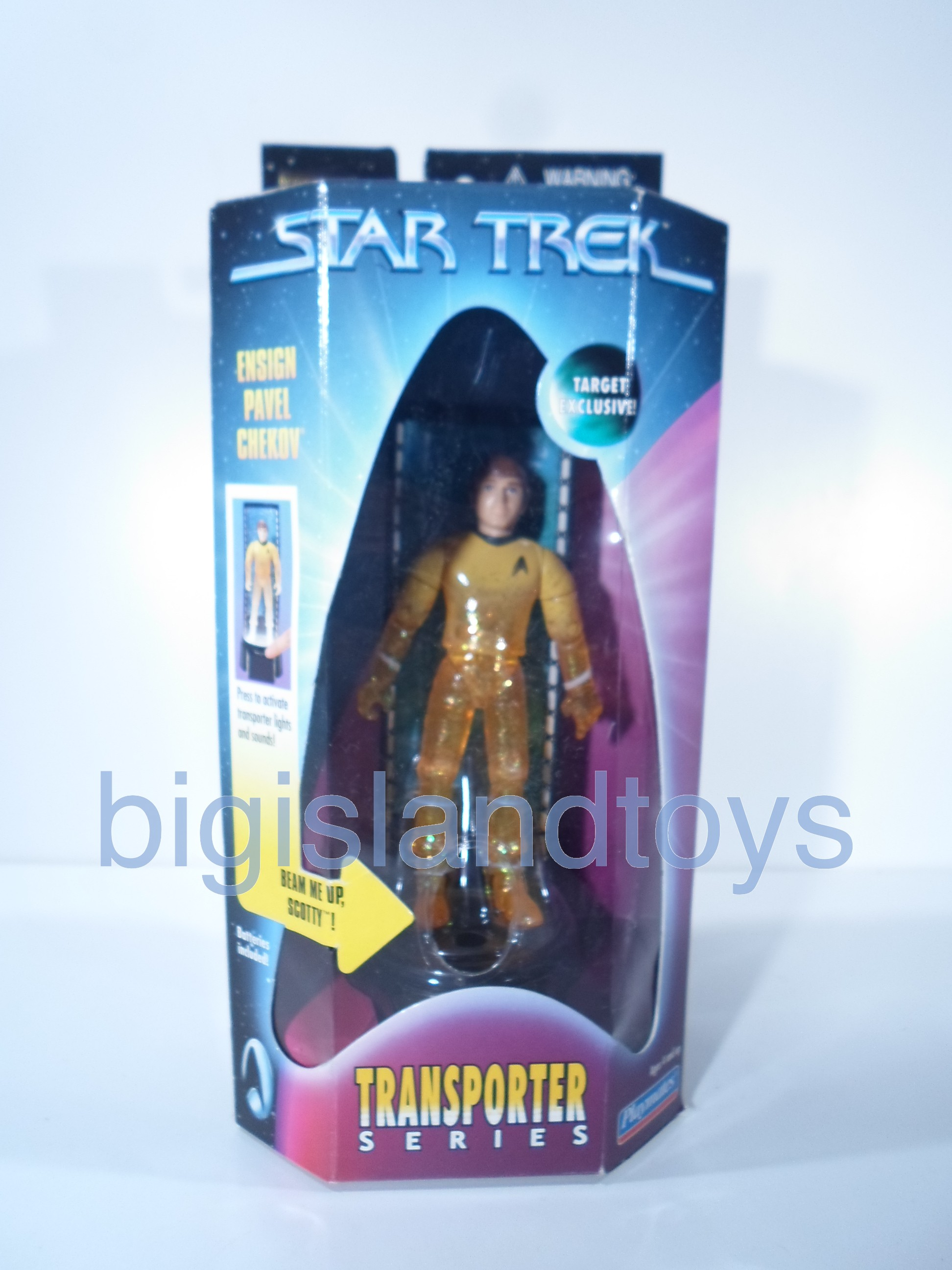 Star Trek  Transporter Series   Ensign Pavel ChekovTarget