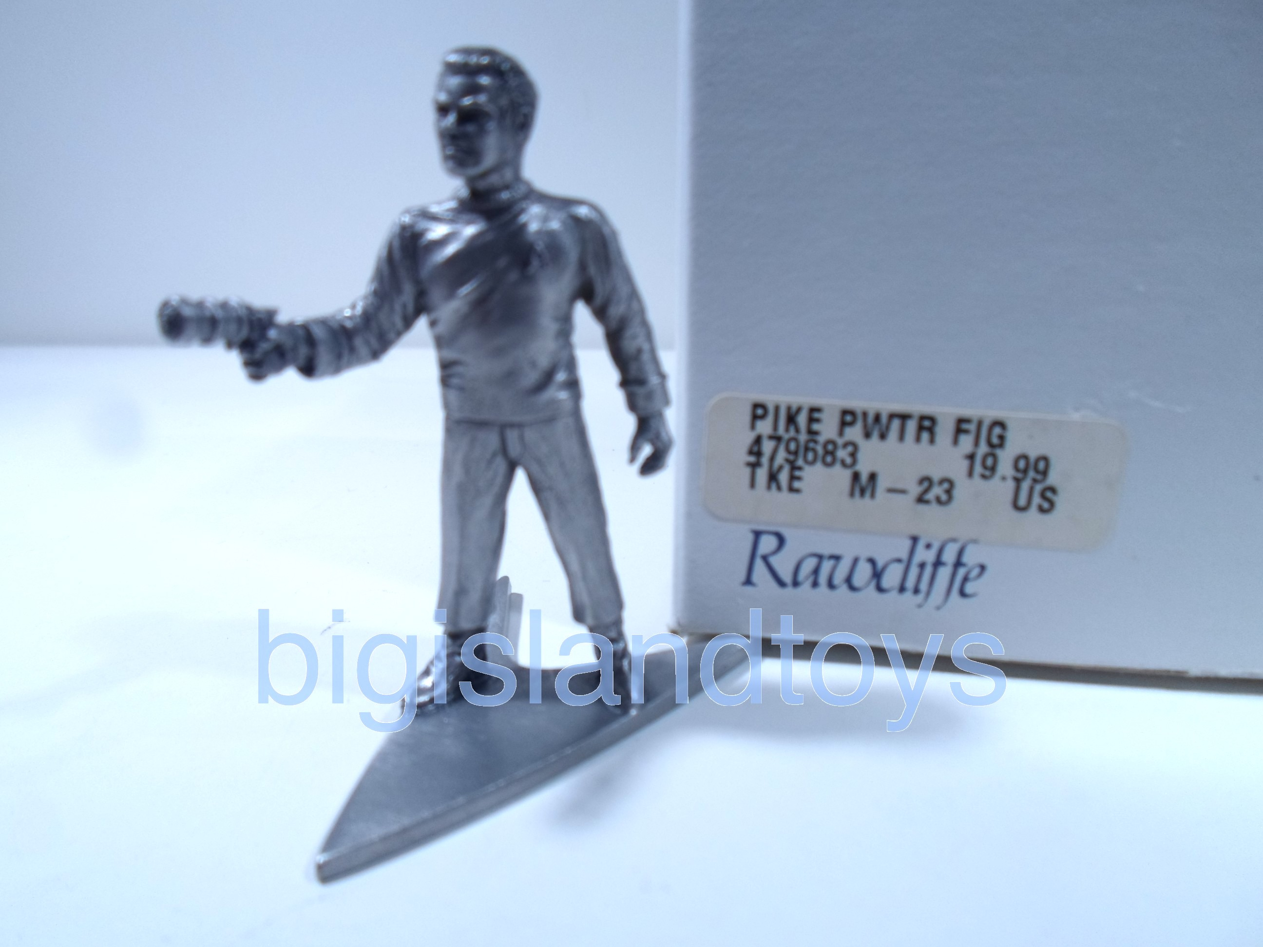 Star Trek  Rawcliffe Pewter   Captain Pike