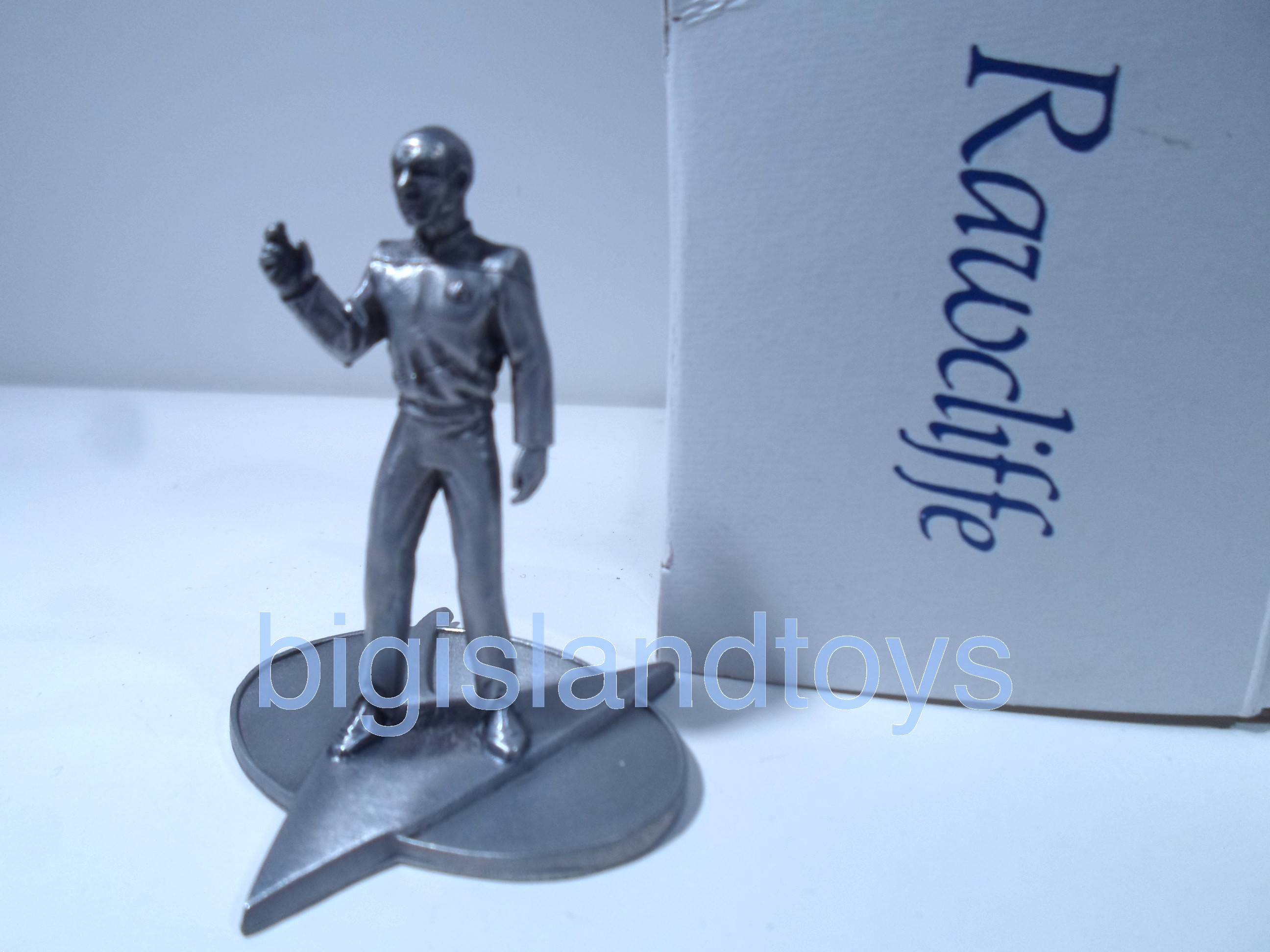 Star Trek  Rawcliffe Pewter   Captain Picard