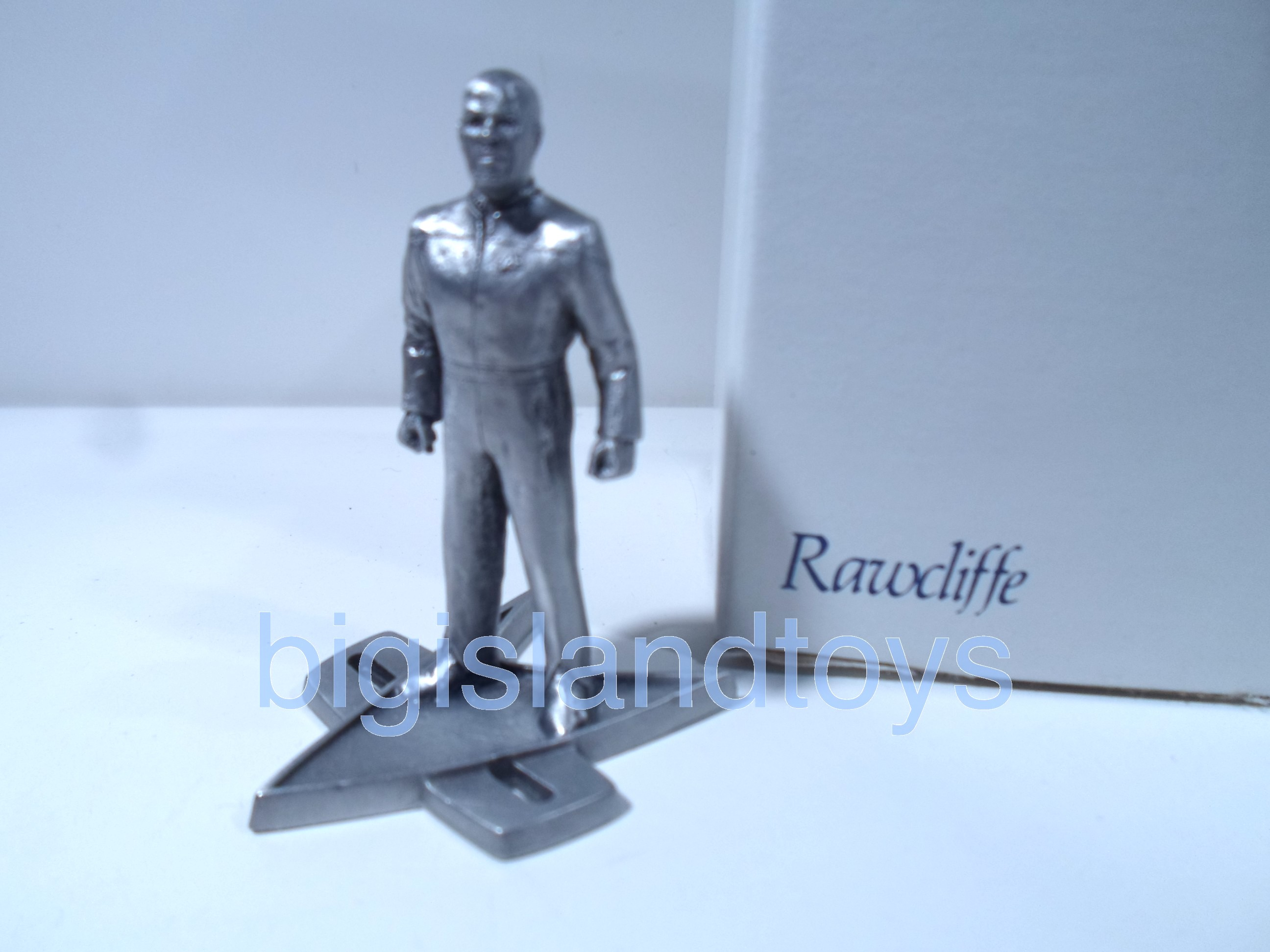 Star Trek  Rawcliffe Pewter   Captain Sisko