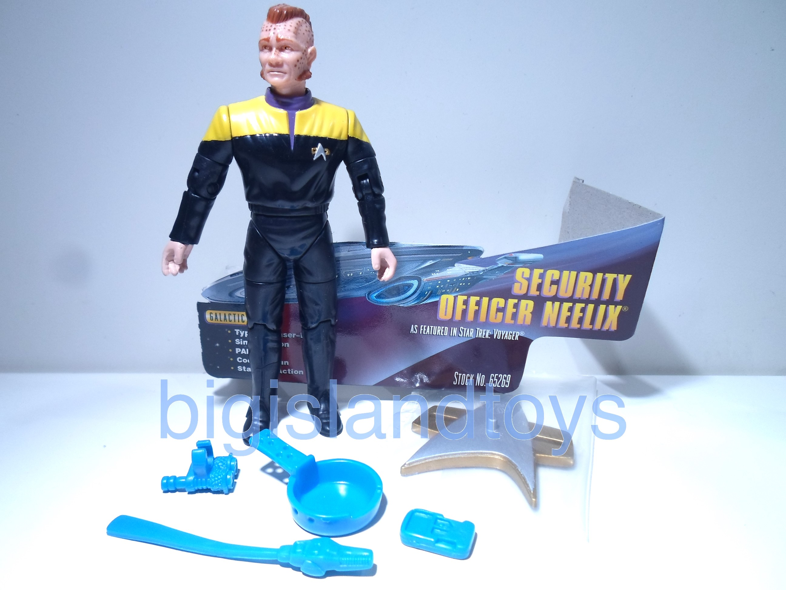 Star Trek  Warp Factor   Security Officer NeeilxSpencer Gifts