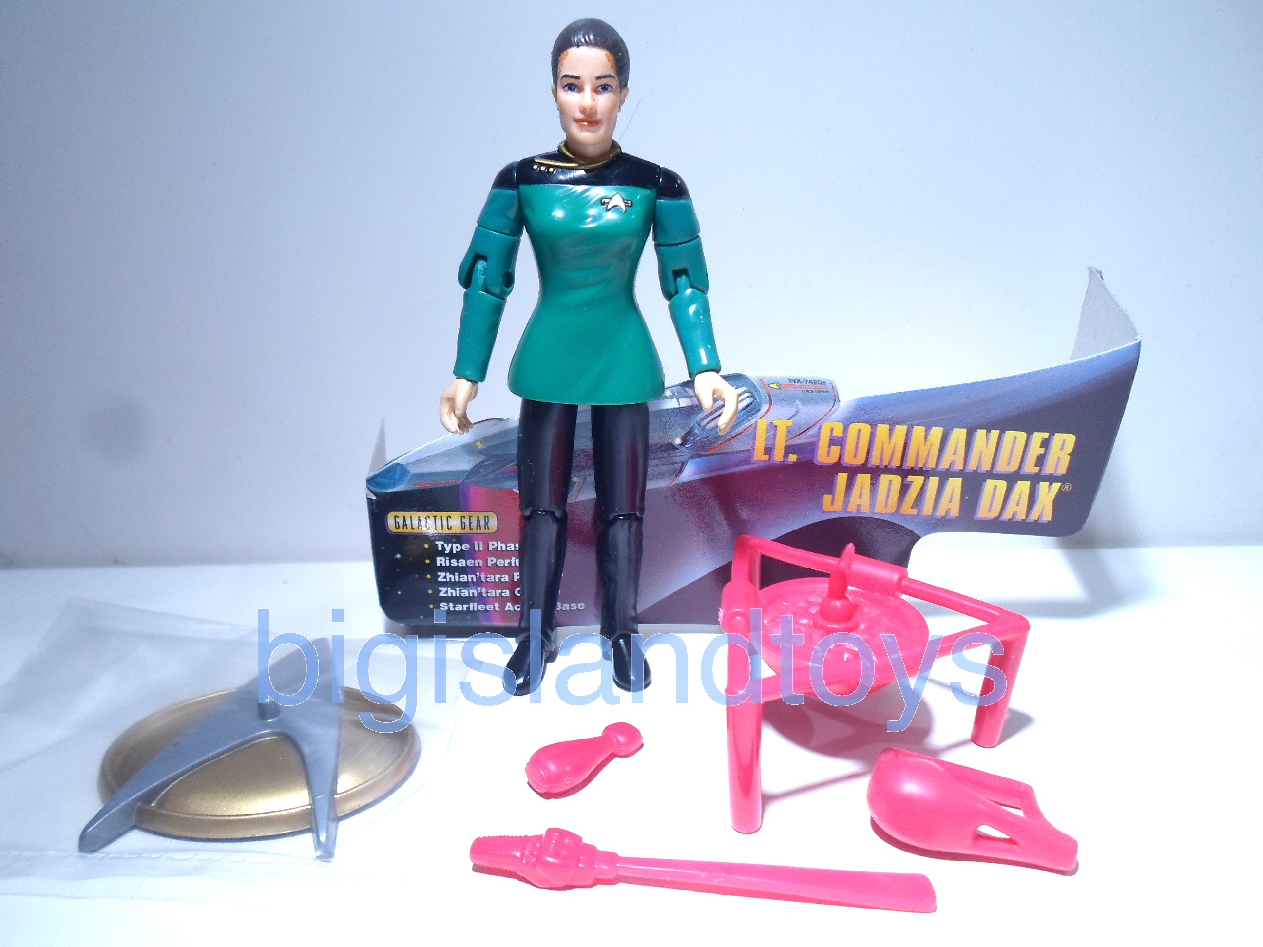 Star Trek  Warp Factor   Lt Commmander Jadzia DaxSpencer Gifts