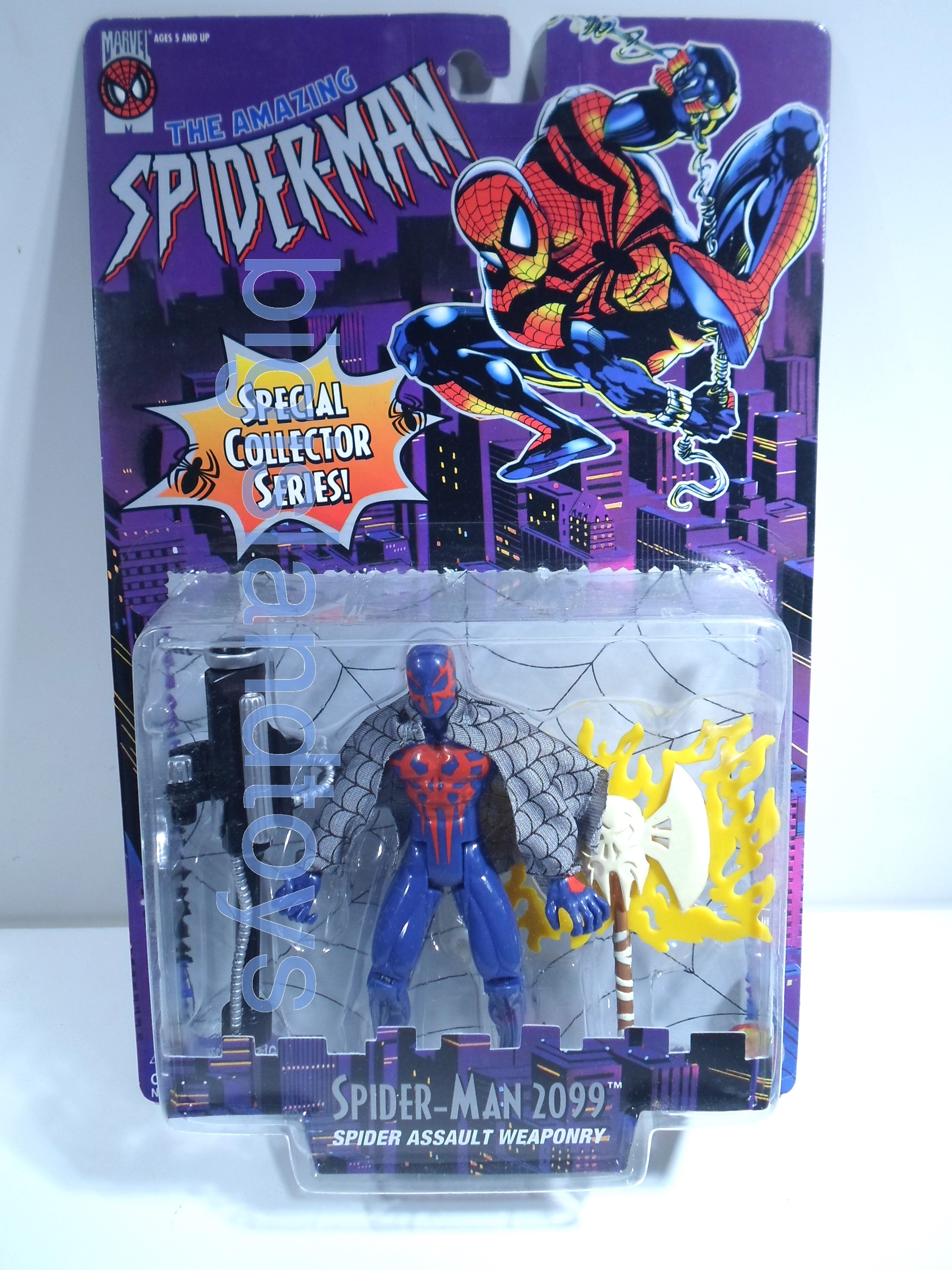 Spider-Man  The Amazing   Spider-Man 2099 White Axe