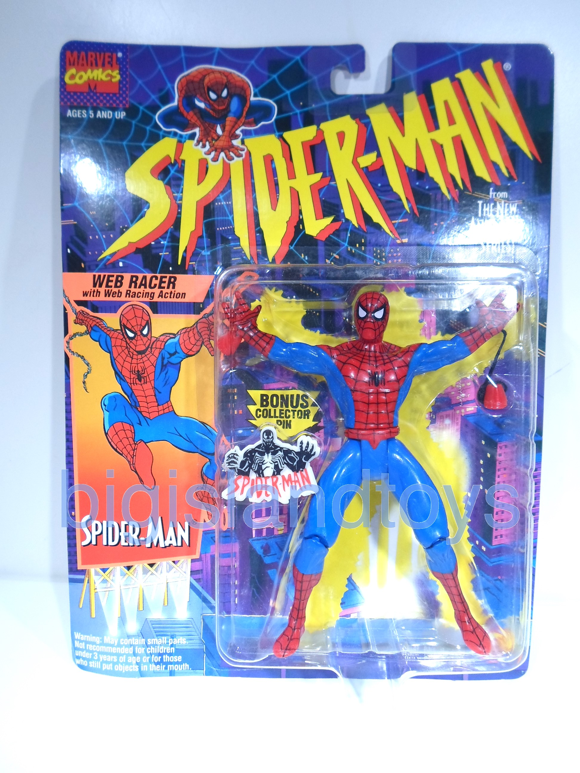 Spider-Man  Animated Series   Web Racer Spiderman